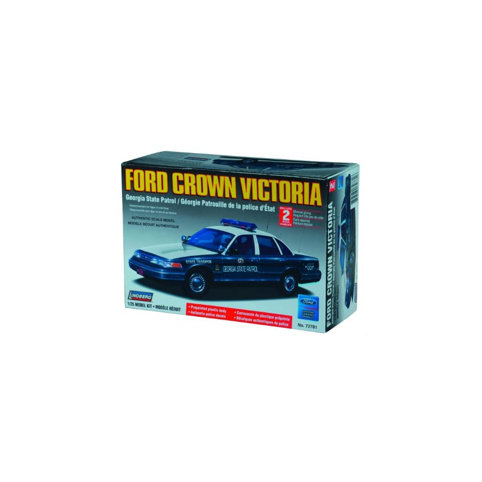 Lindberg 125 scale Ford Crown Victoria Georgia State Police