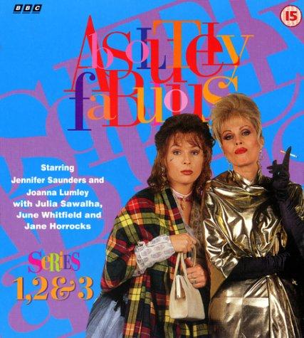 Absolutely Fabulous Box Set – Series 1, 2 & 3
