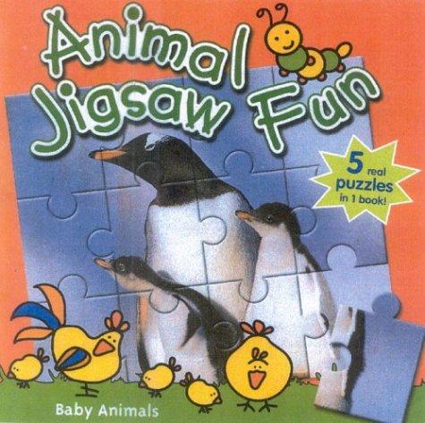 Baby Animals: Animal Jigsaw Fun