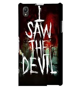SONY XPERIA Z1 I SAW THE DEVIL Back Cover by PRINTSWAG