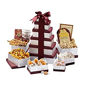 Broadway Basketeers Happy Birthday Wishes Gift Tower