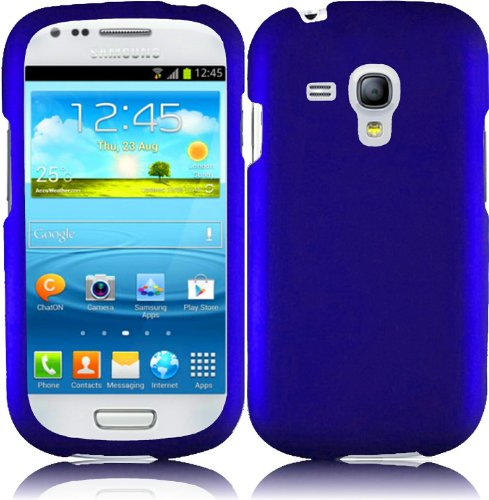 Generic Hard Case For Samsung Galaxy S3 Mini - Retail Packaging - Blue