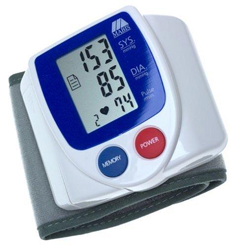 Cheap Mabis 04-235-001 SmartRead Wrist Blood Pressure Monitor (B00005O0ND)