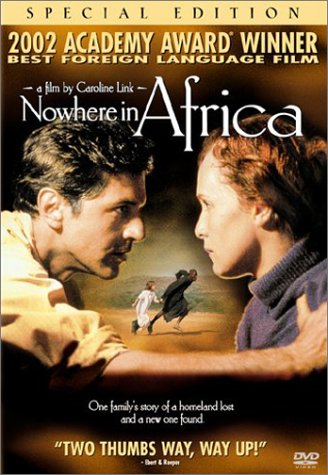 Cover art for  Nowhere in Africa