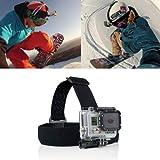 Antiskid Adjustable Elastic Head Strap Mount Belt For GoPro HD Hero 1/2/3 Camera