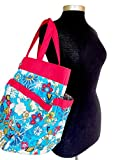 "della Q Tess Yarn Storage & Knitting Caddy Bag (12"" W x 14"" H) 340-1 by della Q"