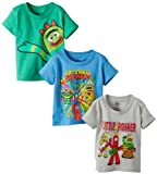 FREEZE Boys 2-7 Yo Gabba Gabba Toddler Boys 3 Pack Tees