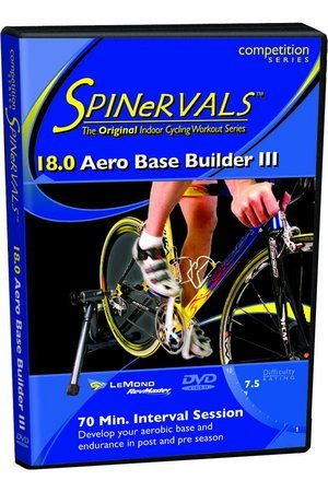 Spinervals Competition DVD 18.0 - Aero Base Builder