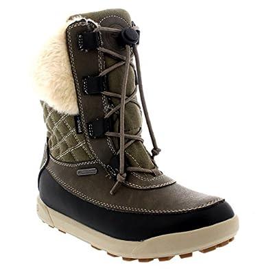 Amazon.com: Womens Hi-Tec Dubois 200 Leather Winter Lace