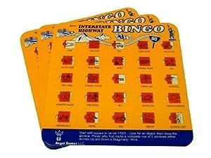 Travel Auto Roadtrip Bingo Vacation Game Family I SPY Set of 3 (Colors may vary)
