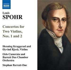 Spohr: Concertos For 2 Violins (Concertos For Two Violins Nos.1 & 2/  Violin Duet Op.3 No.3)