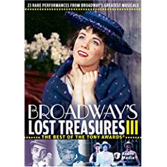 Broadway's Lost Treasures 3 [DVD] [Import]