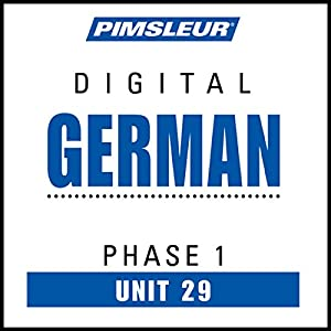 German Phase 1, Unit 29 Audiobook