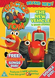 Tractor Tom - The New Vehicle & Other Stories [DVD]
