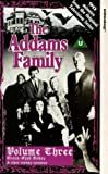 The Addams Family: Volume 3 [VHS]