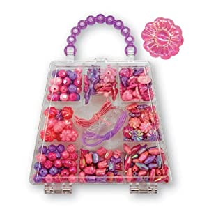 Melissa Doug Polished Petals Bead Set