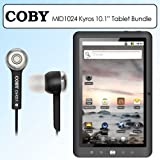 Coby MID1024 10.1 Inch Kyros 4G Android Touchscreen Internet Tablet Bundle