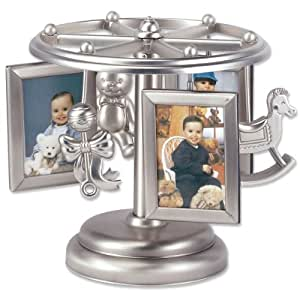 Lawrence Frames Baby Frame-Go-Round Multi 2x3 Picture Frame - Wind Up Design