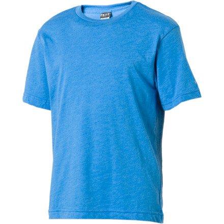 Volcom Solid Heather T-Shirt - Short-Sleeve - Boys' Coastal Blue Heather, M