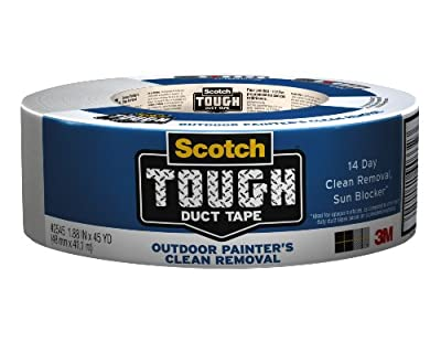 Scotch Painter's Clean Removal Outdoor Tough Duct Tape