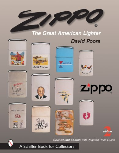 zippo-the-great-american-lighter-schiffer-book-for-collectors