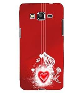 ColourCraft Loving Heart Design Back Case Cover for SAMSUNG GALAXY GRAND PRIME G530H