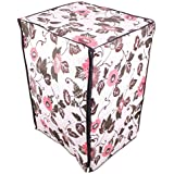 Dreamcare Leafy Brown Dustproof And Waterproof Printed Washing Machine Cover For IFB Front Load ExecutivePlusVX...
