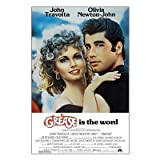 (27x40) Grease John Travolta Olivia Newton-John Movie Poster Print