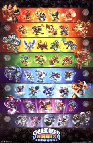 Skylanders Giants - Group Poster Print (22 x 34)