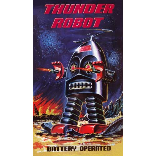 Thunder Robot (Art Print, Stretched Canvas or Unstretched Canvas)