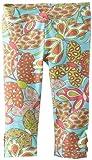 Hartstrings Little Girls' Toddler Printed Cotton Spandex Capri Legging
