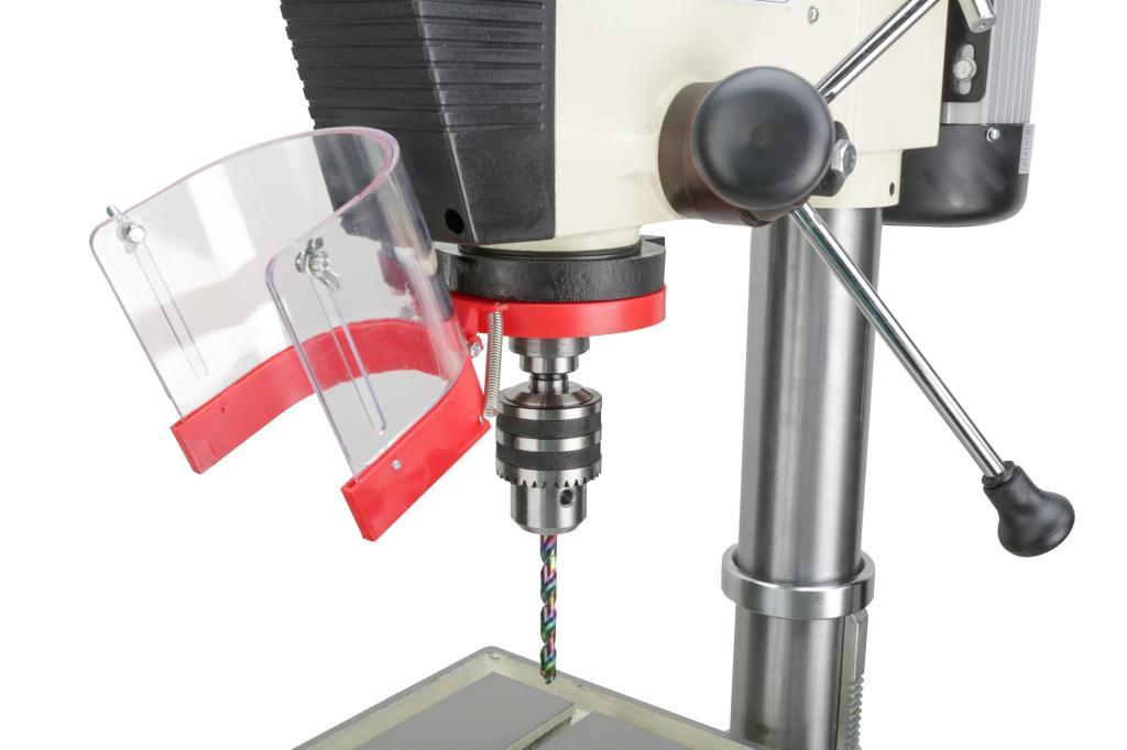 drill press machine guarding