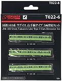 Zゲージ T022-6 国鉄 103系 ウグイス 山手線タイプ 3両 増結セット