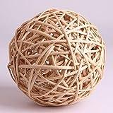 VANTIYAUS Sepak takraw(Pack of 6)Weaving Rattan Balls for DIY Craft Decoration Material Thailand- Rattan Thailand Product of Thailand