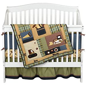 Eddie Bauer Construction Crib Bedding