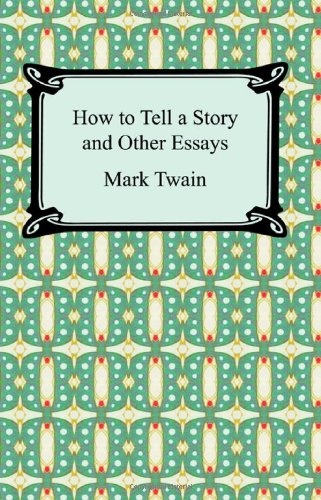 Large book cover: How to Tell a Story and Other Essays
