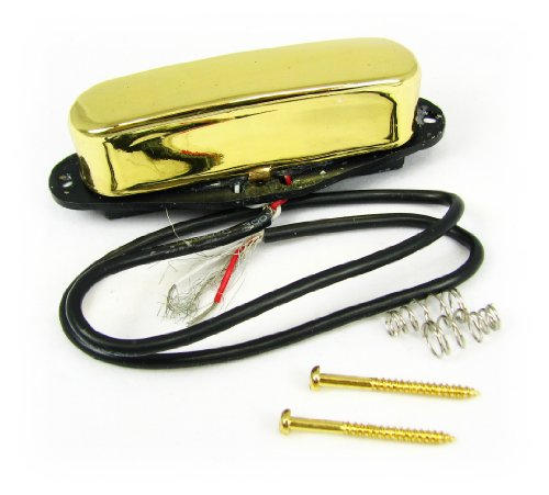 Cool Gold-Covered Single-Coil Electric Guitar Magnetic Pickup