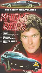 Knight Rider: Volume 1 - Knight Of The Phoenix/Deadly Manoeuvres [VHS]