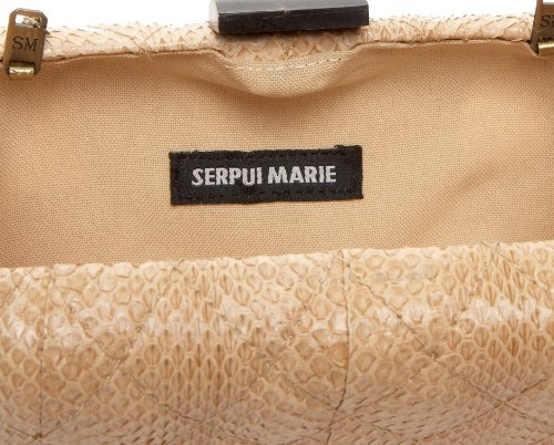 Serpui Marie Rectangular Quilted Minaudiere,Chanel,one size