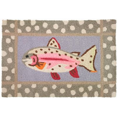 Save 16 24 Jellybean Mountain Trout Accent Area Rug