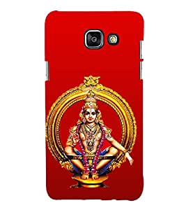 99Sublimation Lord Ayappa 3D Hard Polycarbonate Designer Back Case Cover for Samsung Phones