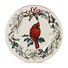 "buy Lenox Winter Greetings Cardinal 9"" Accent Plate"