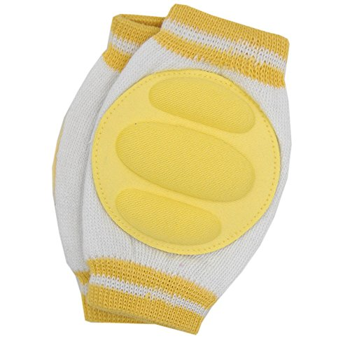 New Baby Crawling Child Knee Pad Toddler Elbow Pads 804061 Yellow - 1