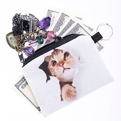 [해외]Ikevan 소녀 인쇄 동전 지갑 변경 클러치 지퍼 제로 지갑 전화 키 가방/Ikevan Girl printing coins change purse Clutch zipper zero wallet phone key ba