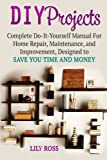 img - for DIY Projects: Complete Do-It-Yourself Manual For Home Repair, Maintenance, and Improvement, Designed to Save You Time and Money (DIY Projects, DIY Household Hacks, DIY Cleaning and Organizing) book / textbook / text book