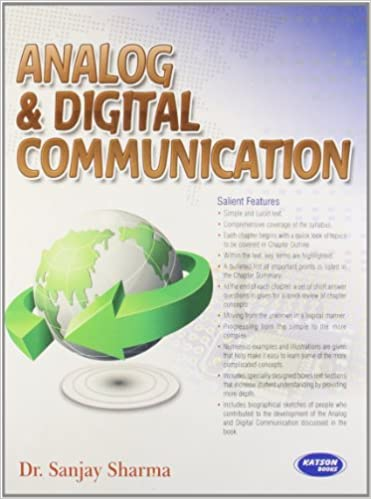 Analog  amp; Digital Communication 9788189757526 available at Amazon for Rs.274