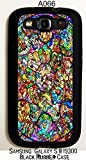 New Disney All Character Design One Piece Rubber Case Cover Samsung Galaxy S3 A066(SHIPS FROM ALABAMA USA) INCLUDES FREE SCREEN PROTECTOR