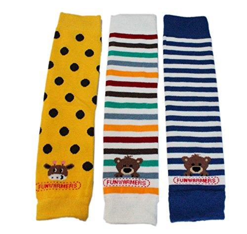 baby-toddler-boy-leg-warmers-pack-of-3-colourful-blue-striped-bear-yellow-polka-giraffe