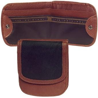 Durango Collection Taxi Wallet (Black/Brown)