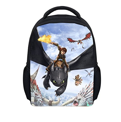 Better Vie How to Train Your Dragon Children Backpack School Bag